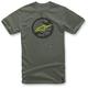 Military Green Rotor T-Shirt