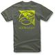 Military Green Rift T-Shirt