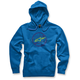 Royal Blue Rotor Pullover Hoody
