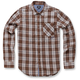 Brown Process Long Sleeve Shirt