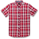 Red  Variance Short Sleeve Shirt