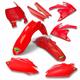 Complete Red Powerflow Body Kit - 1CYC-9304-33