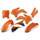 Complete Orange Powerflow Body Kit - 1CYC-9310-22