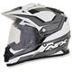 Black Veleta FX-39DS Dual Sport Helmet Helmet