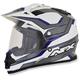 Blue Veleta FX-39DS Dual Sport Helmet Helmet
