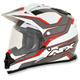 Red Veleta FX-39DS Dual Sport Helmet Helmet