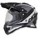Silver FX-41DS Dual Sport Eiger Helmet