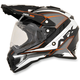 Orange FX-41DS Dual Sport Eiger Helmet