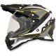 Yellow FX-41DS Dual Sport Eiger Helmet