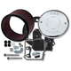 Billet Aluminum Air Cleaner Kit w/Chrome S&S Logo Cover - 170-0295A