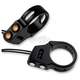 Black 39mm Fork Mount Rat Eye LED Turn Signals - 05-200-1B