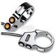 Chrome 39mm Fork Mount Rat Eye LED Turn Signals - 05-200-1C