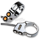 Chrome 41mm Rat Eye LED Turn Signals - 05-200-2C