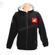 Black Honda Zip-Up Sherpa Hoody