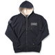 Navy Yamaha Zip-Up Sherpa Hoody