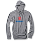Heather Gray Suzuki Stacked Lightweight Hoody
