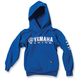 Youth Royal Blue Yamaha Racing Pullover Hoody