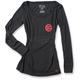 Women's Black Ride Red Long Sleeve Shirt