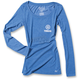 Women's Royal Blue Yamaha Tuning Fork Long Sleeve Shirt
