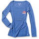 Women's Royal Blue Suzuki Sun Long Sleeve Shirt