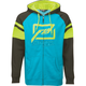 Blue/Hi-Vis Threshold Zip Up Hoody