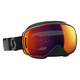 Black/Red LCG Snowcross Goggles w/Red Chrome Lens - 246437-1042308