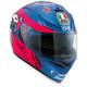 Pink/Blue K3 SV Guy Martin Helmet