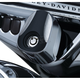 Chrome/Black Sculpted Ignition Switch Cover - 6995