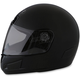Youth Black Strike Helmet