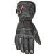 Black Rocket Leather Burner Heated Cold Weather Gloves