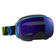 Blue/Yellow LCG Snowcross Goggles w/Blue Chrome Lens - 246437-1054300