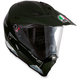 Green/White AX-8 Dual Sport EVO Helmet