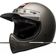Matte Titanium Moto-3 Independent Truck Company Helmet