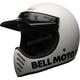 White Moto-3 Classic Helmet