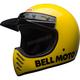 Yellow Moto-3 Classic Helmet