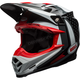 Black/White Moto-9 Flex Vice Helmet