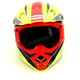 Yellow/Blue Moto-9 Flex Vice Helmet