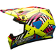 Hi-Viz/Red MX-9 Tagger Double Trouble Mips Helmet