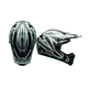 Black/Gray Camo SX-1 Whip Helmet