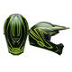 Matte  Black/Hi Viz Yellow SX-1 Whip Helmet