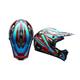 Blue/Camo SX-1 Whip Helmet