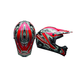 Red/Camo SX-1 Whip Helmet