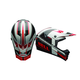Black/White/Red SX-1 Holeshot Helmet