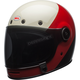 White/Red/Black Bullitt Triple Threat Helmet