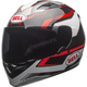 Black/Red Qualifier Torque Helmet