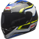 Black/Blue/Yellow Qualifier Torque Helmet