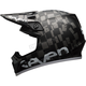 Matte Black/Silver MX-9 Seven Mips Checkmate Helmet