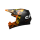 Orange/Black MX-9 Seven Mips Soldier Helmet