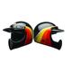 Black/Gold Moto-3 Chemical Candy Helmet