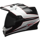 Black/White MX-9 Adventure Mips Stryker Helmet